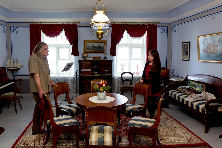 Saalitoa avamine 04.10.2015. Aarne Vaik ja Mari-Liis Uibo